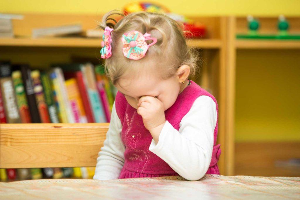 Ребёнок не может привыкнуть к детскому саду